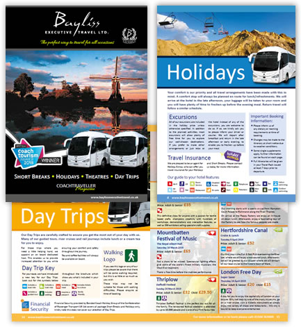 Coach Traveller Magazine from Bayliss Executive Travel