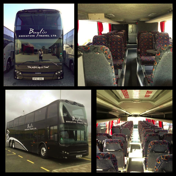 Berkoff Double Decker - 83 Seats