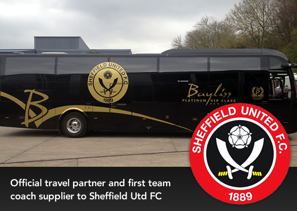 Official Travel Partner for Sheffield United FC